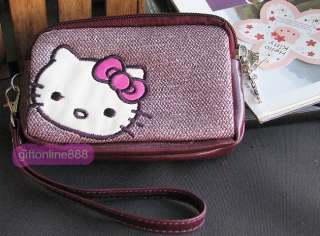 Hello kitty set coin pouch purse wallet bag KT P21Z