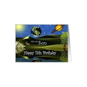 Birthday ~ Son / Age Specific 17th ~ Planet Taro Card: Toys & Games