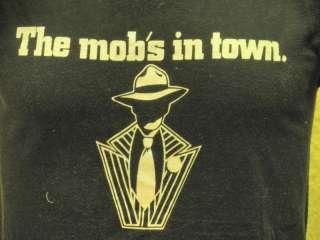 Vintage Guys and Dolls Musical Mobster T Shirt Soft M