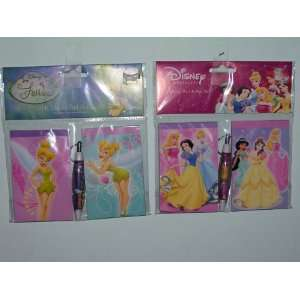 Disney Princess & Tinker Bell Memo Pad Set Toys & Games