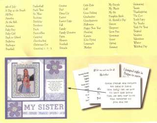 MME MY MINDS EYE Assorted Tiny Tales RHYMES & POEMS for Cards