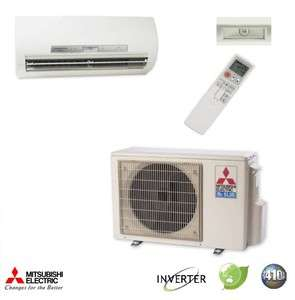 9000 BTU Mitsubishi MR.SLIM Ductless Mini Split Air Conditioner SEER