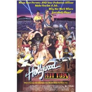 Hollywood Hot Tubs Movie Poster (11 x 17 Inches   28cm x