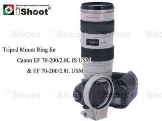 Tripod mount ring lens collar holder for Canon EF 70 200/2.8L USM