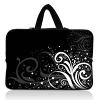 10 Laptop Netbook Sleeve Bag Case+ Hide Handle For Apple Ipad 2 /HP