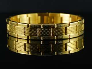 b447 Charming Gold Plated Stainless Steel Bracelet MEN