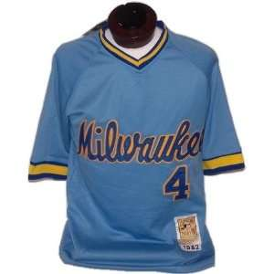 Paul Molitor Authentic Mitchell & Ness 1982 Milwaukee