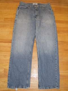 Mens Levis Strauss Jeans Loose Straight Fit Size 34x34 Rugged Look