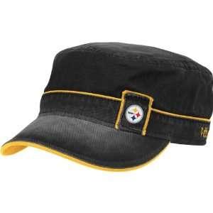 Reebok Pittsburgh Steelers Womens Military Hat Adjustable