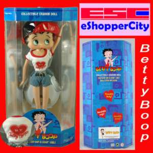 Betty Boop I Love New York Doll Barbie Type Figure New