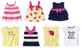 COD CUTIE BABY GIRLS SUMMER CLOTHES OUTFIT TOPS 6M 5T U PICK