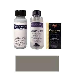 Oz. Meteor Gray Metallic Paint Bottle Kit for 2012 Porsche Cayman