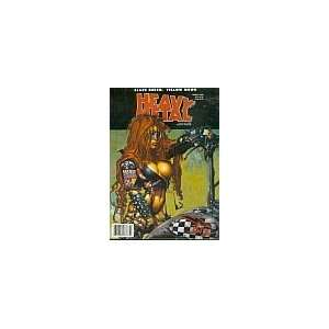 Heavy Metal March 1998 Heavy Metal Books