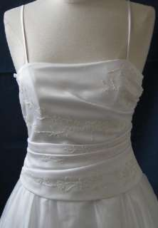 Informal Bridal Ball Gown Dress Party Gala Prom Evening Pageant White