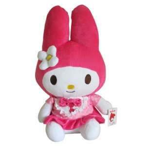 14in My Melody in Pink Dress   Plush Hello Kitty