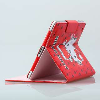 iPad 2 Magnetic PU Leather HelloKitty Case Smart Cover Stand Choose