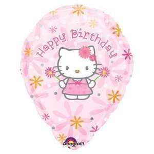 18 Hello Kitty Bday Floral Personalized Balloon Toys