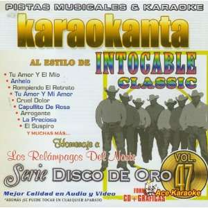 Karaokanta KAR 1747   Al Estilo de Intocable   Classic   Serie Disco