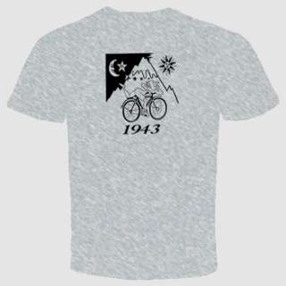 Dr Hoffman LSD T Shirt 1943 Bike Acid Party Trance Halloween Witch