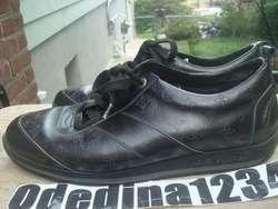 Louis Vuitton Monogram Lace Up Mens Leather Sneakers Size Sz 9 (LV 8