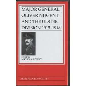 Army Records Society: Major General Oliver Nugent and the