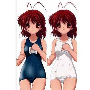Decorative Japanese Anime Body Pillow Anime Clannad, 13.4