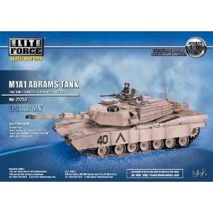 M1A1 Abrams 118 Blue Box Toys 21250 Toys & Games