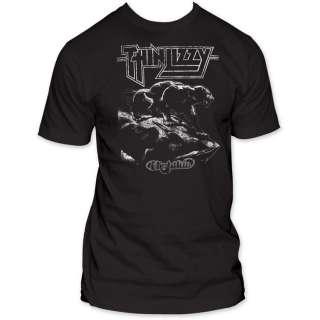 Thin Lizzy Nightlife Vintage Men T shirt top night life