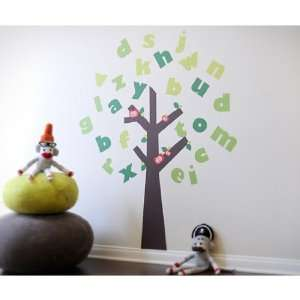 Pop & Lolli Tree of Knowledge Wall Stickers Baby