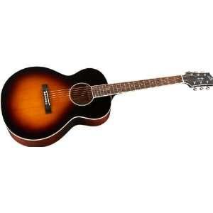 The Loar LH 250 Small Body Acoustic Guitar Sunburst
