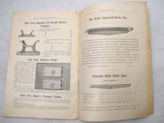 KELLY FOUNDRY MACHINE ANTIQUE FARM TOOL CATALOG WAGON