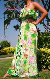 Women Evening Summer One Shoulder Lady Cocktail Long Maxi Dress