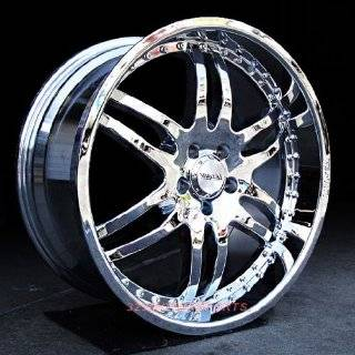 Lexani 410 Onyx 21x8.5 Mercedes Benz M S Class Wheels Rims Chrome
