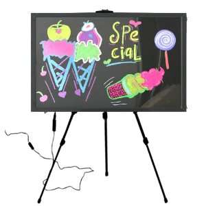 LED message display boards neon sign menu board with