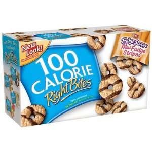 Keebler Right Bites Fudge Shoppe Mini Fudge Stripes 100 Calorie Packs