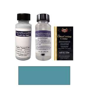 1 Oz. Medium Sapphire Blue Metallic Paint Bottle Kit for