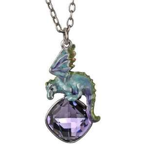 Kirks Folly Hydra Water Dragon Crystal Necklace