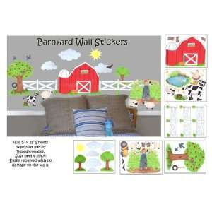 Barnyard Wall Stickers for Baby Room Decor  Peel & Stick
