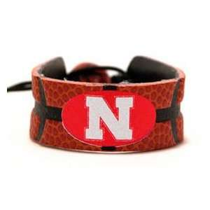 Nebraska Huskers NCAA Classic Bracelet Basketball  Sports
