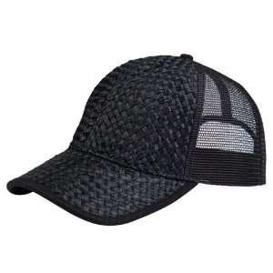 Trucker Cap Hat Adjustable Low Profile black Black