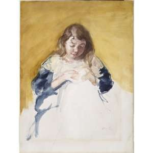 FRAMED oil paintings   Mary Stevenson Cassatt   24 x 32 inches   Young