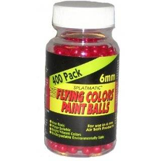 6mm Paintballs Pearl Purple   400 Count