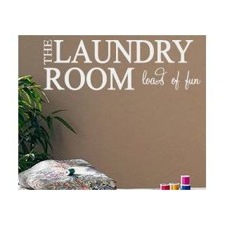 Vinyl Wall Art Saying Decor Decal Lettering Laundry Room Sticker Quote