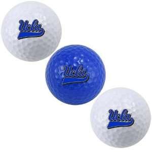 UCLA Bruins 3 Pack Golf Balls