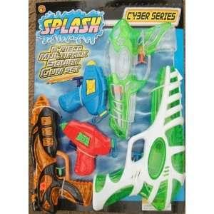 Splash 5 Piece Multipack Squirt Gun Set Toys & Games
