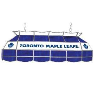 NHL Toronto Maple Leafs Stained Glass 40 inch Lighting