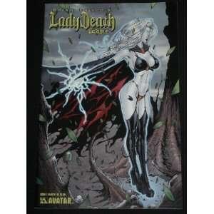 PULIDOS LADY DEATH SACRILEGE #1 MATT MARTIN COVER VARIANT AVATAR