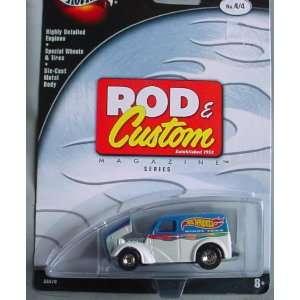 Hot Wheels 100% Rod & Custom Magazine Anglia Panel 4/4