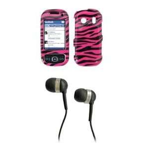 Samsung Seek M350 Premium Hot Pink Zebra Skin Design Snap
