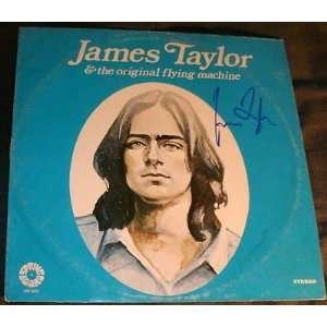 James Taylor Original Flying Machine Signed Auto Album
